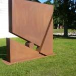"""""""Planquadrat"""", Cortenstahl, Höhe: 220 cm, Nordart Büdelsdorf 2012"""