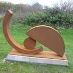 Gewichtung II /2012, Cortenstahl, Höhe: 100 cm