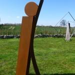Aufschwung I /2015, Corten - Stahl, Höhe: 180 cm
