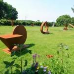 Alf Becker • Skulpturengarten • Hüholz 1, Hasselberg