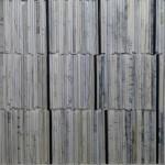 16 / 2015, Papiercollage auf Leinw. 60 x 60 cm