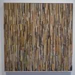 18 /2015 Papiercollage 100 x 100 cm