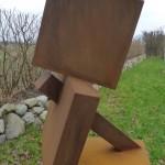 Ungleichgewicht /2016 Corten-Stahl Höhe: 65 cm