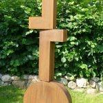 Schwerpunkt / 2016 Corten-Stahl Höhe: 200 cm