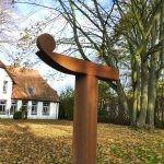 Maß = Masse /2014 Corten-StahlHöhe 225 cm, Privatbesitz