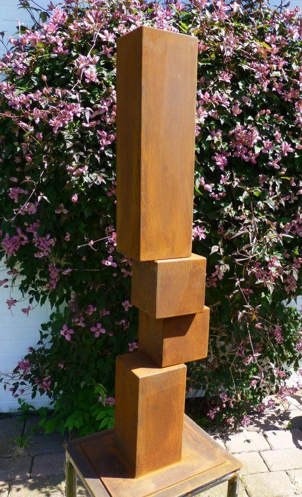 Gegengewicht III /2017 Corten Höhe: 78 cm