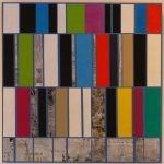 9/2017 Acryl u. Zeitungscollage 80x80 cm