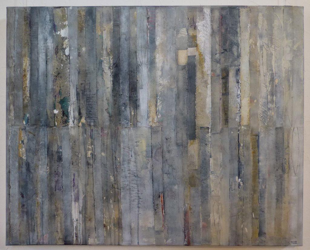 10 /2017 Collage u. Acryl 80x100 cm