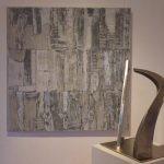 5 /2017 wellpappe und Acryl, 120 x 120 cm