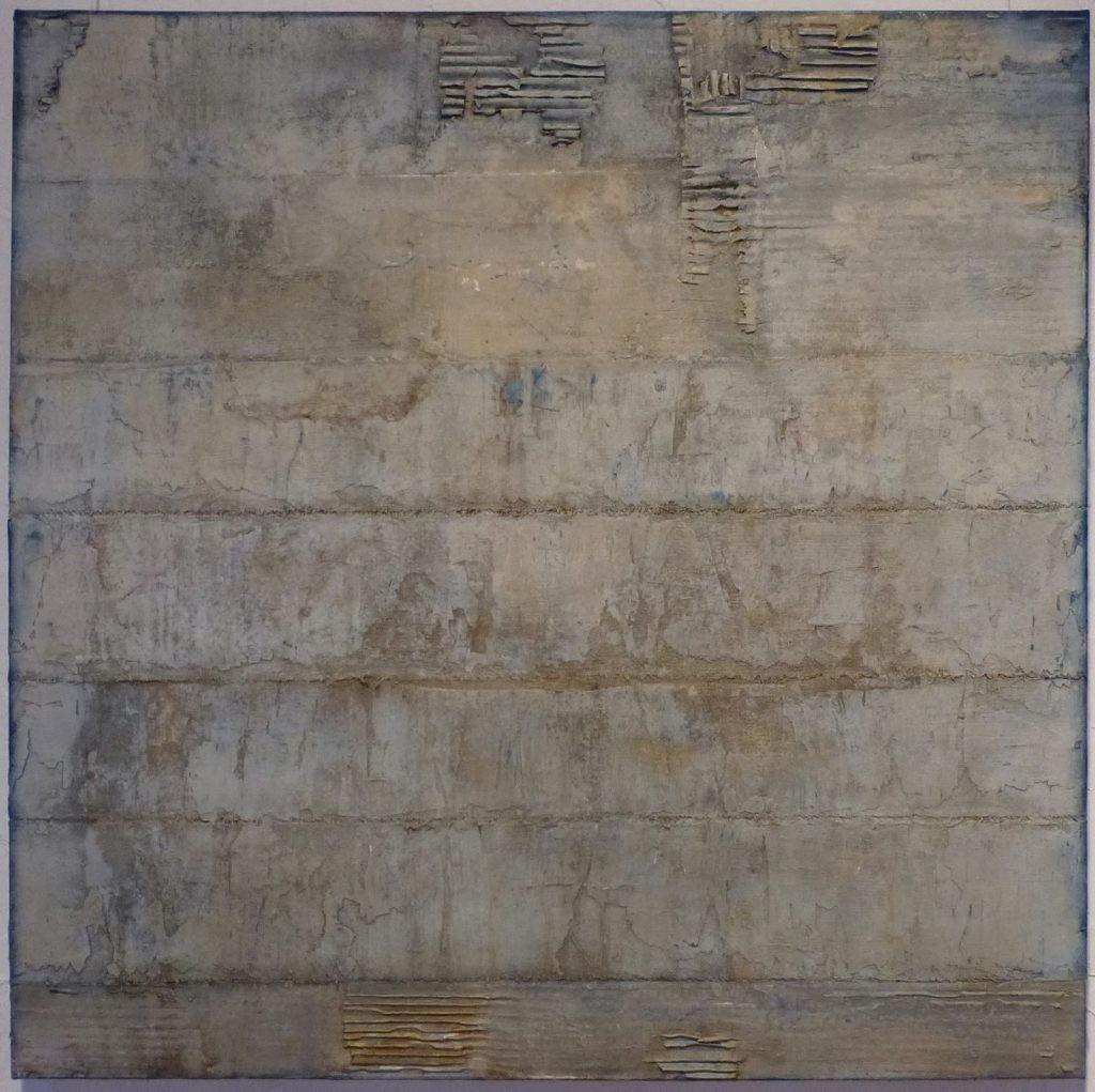 15 /2017 Collage, Wellpappe u. Acryl 80x80 cm