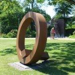Gegengewicht /2014 Corten - Stahl Höhe165 cm Kurpark Eckernförde