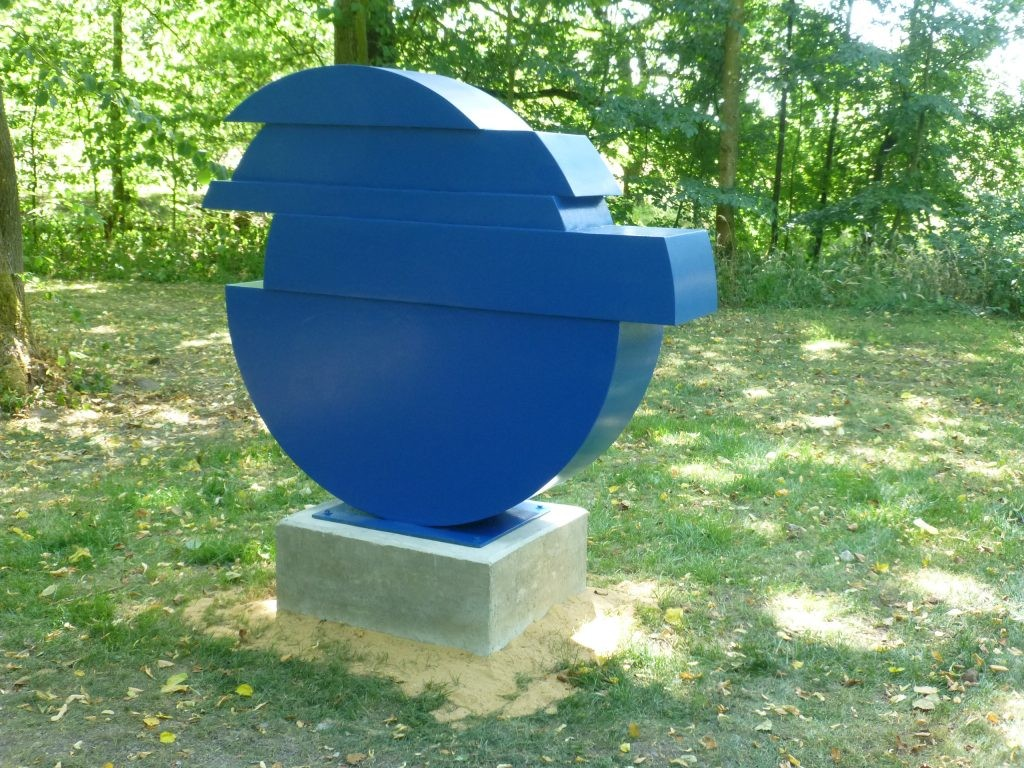 In balance III /2015 Corten farbig Höhe: 116 cm Skulpturenpark Hoyesrwort