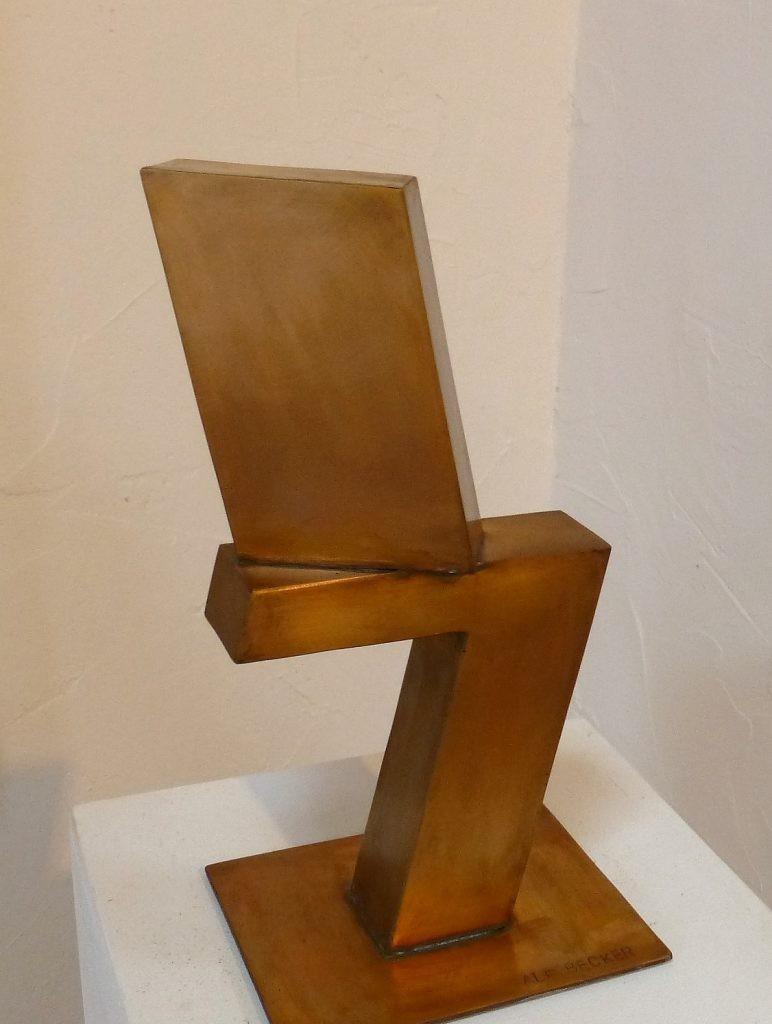 Drehung /2018 Bronze Höhe: 30 cm