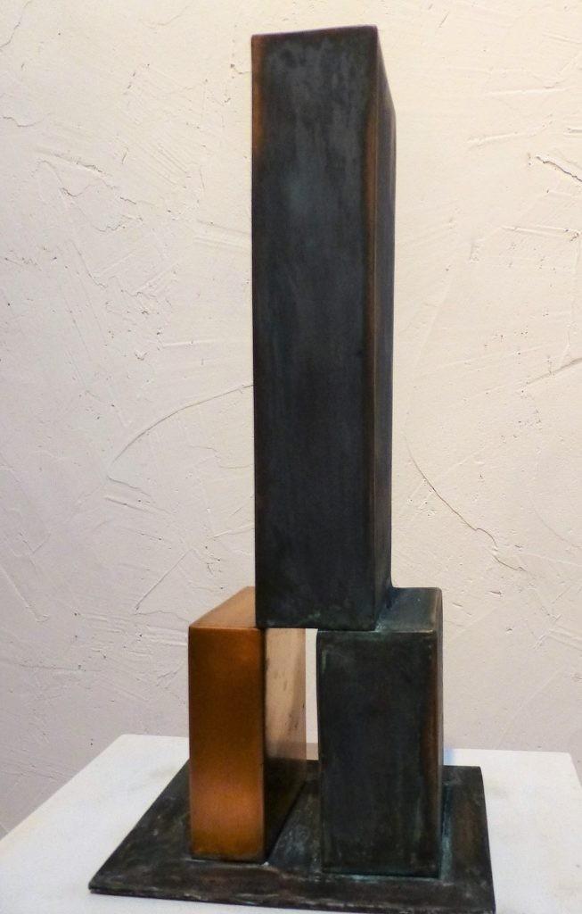 Sensibles Gleichgewicht II, 2019, Bronze